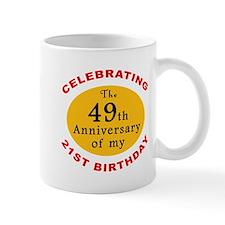 Celebrating 70th Birthday Mug