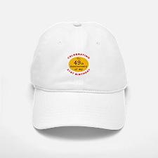 Celebrating 70th Birthday Baseball Baseball Cap