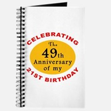 Celebrating 70th Birthday Journal