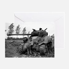 British Firefly Tank Greeting Card