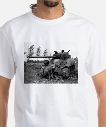 British Firefly Tank White T-Shirt