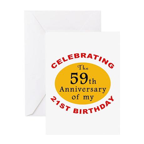 Celebrating 80th Birthday Greeting Card by thebirthdayhill
