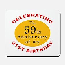 Celebrating 80th Birthday Mousepad