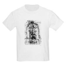 """The Shroud of Turin"" Kids T-Shirt"