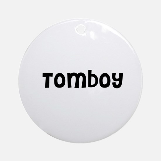 Tomboy Ornament (Round)