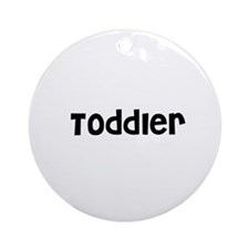 Toddler Ornament (Round)