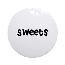Sweets Ornament (Round)