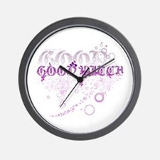 Good Witch Wall Clock