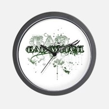 Bad Witch Wall Clock