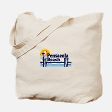 Pensacola Beach FL Tote Bag