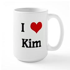 I Love Kim Mug