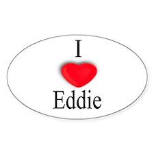 Eddie Oval Decal