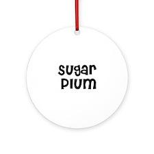 Sugar Plum Ornament (Round)