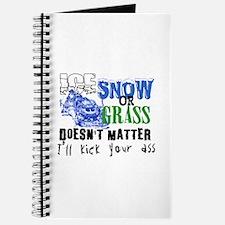 Ice, Snow or Grass - Snowmobile Racing Journal