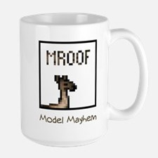 Model Mayhem Llama Large Mug