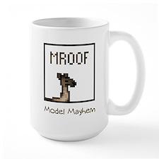 Model Mayhem Llama Mug