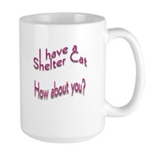 I Have a Shelter Cat Mug(2-sided)