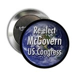 Re-elect James McGovern campaign button