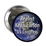Re-elect Keith Elison to Congress button