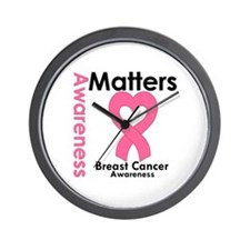 Breast Cancer Matters Wall Clock
