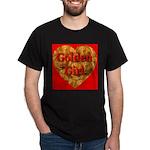 Golden Girl Black T-Shirt