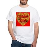 Golden Girl White T-Shirt
