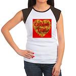 Golden Girl Women's Cap Sleeve T-Shirt