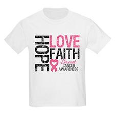 Breast Cancer Faith T-Shirt