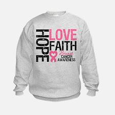 Breast Cancer Faith Sweatshirt