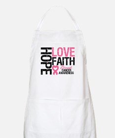 Breast Cancer Faith BBQ Apron