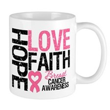 Breast Cancer Faith Mug