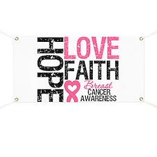 Breast Cancer Faith Banner