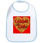 Golden Girl Bib