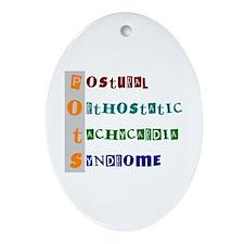 POTS Syndrome Oval Ornament