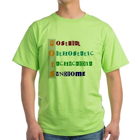 POTS Syndrome Green T-Shirt
