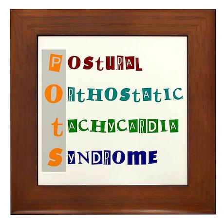 POTS Syndrome Framed Tile