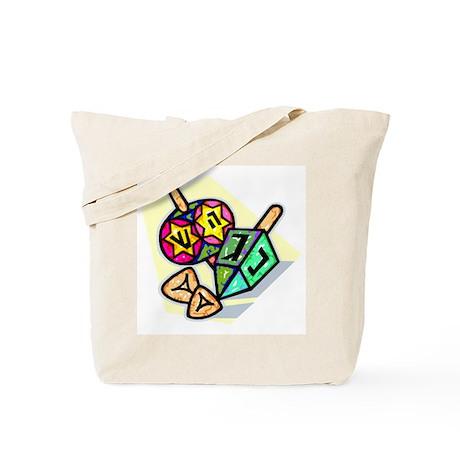 Jewish Dreidels Tote Bag