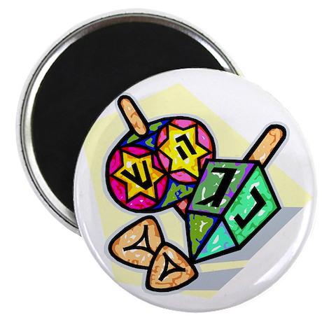 Jewish Dreidels Magnet