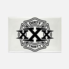 Dirty 30 Rectangle Magnet (10 pack)