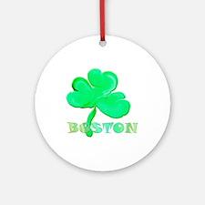 Boston Clover Ornament (Round)