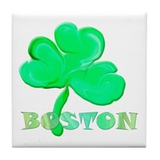 Boston Clover Tile Coaster