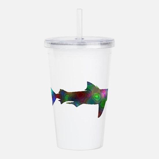 SHARK Acrylic Double-wall Tumbler