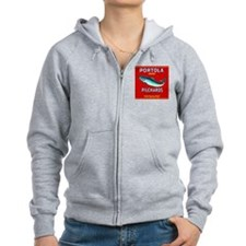 Portola Sardine Label 2 Zip Hoodie