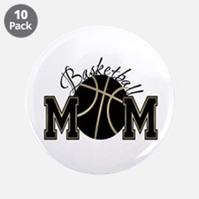 "Basketball Mom 3.5"" Button (10 pack)"
