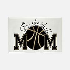 Basketball Mom Rectangle Magnet (100 pack)