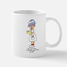 Be Nice Nurse Mug