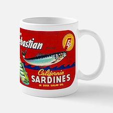 Sebastian Sardine Label Small Small Mug