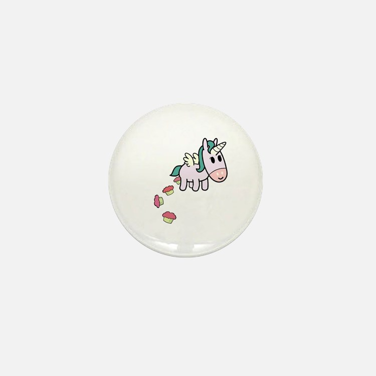 Unicorn Sweets Mini Button