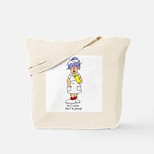 Nurse No Joking Tote Bag
