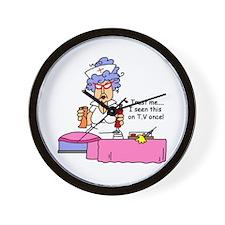 Nurse Trust Me Wall Clock